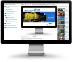 Une plateforme collaborative audiovisuelle pour Réseau Ferré de France