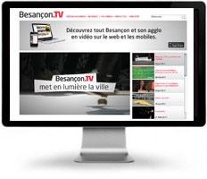 Besançon TV utilise les solutions vidéo Streameo